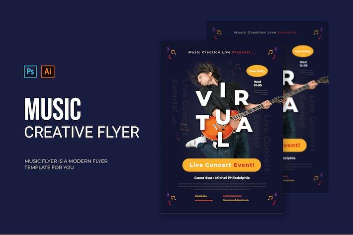 Music Creation - Flyer