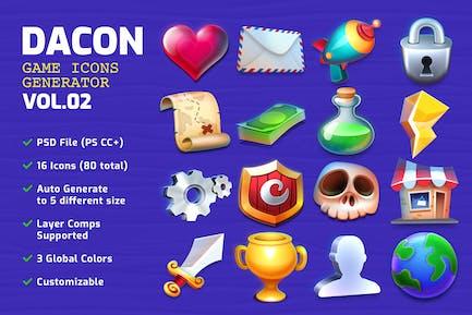 DACON - Game Icon Generator v.02