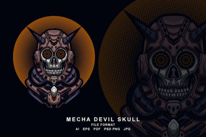 Thumbnail for Mecha devil skull
