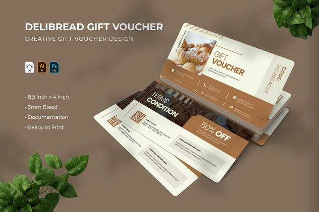 Delibread   Gift Voucher
