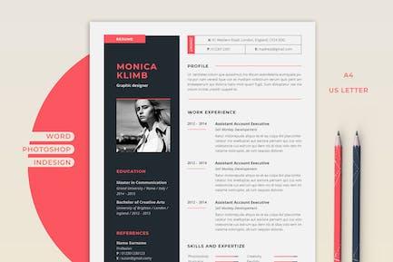 Resume Monica