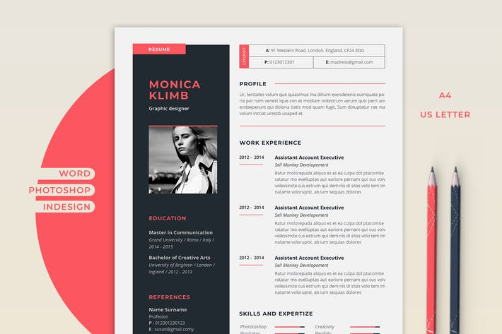 Thumbnail for Resume Monica