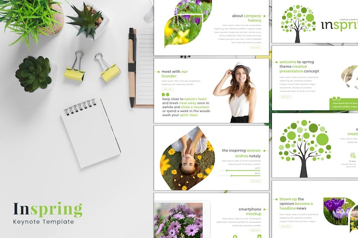 Thumbnail for Inspring - Keynote Template