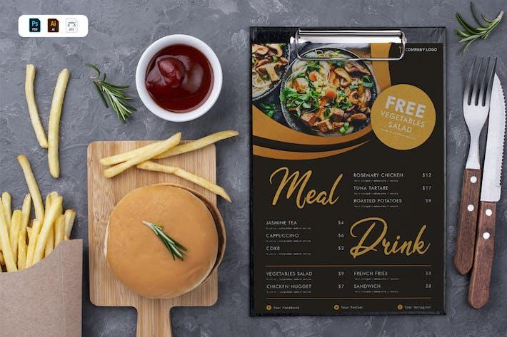 Thumbnail for Restaurant Food Menu
