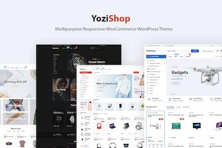Yozi - Electronics WooCommerce WordPress Theme