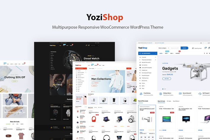 Yozi - Electronics WooCommerce WordPress Theme