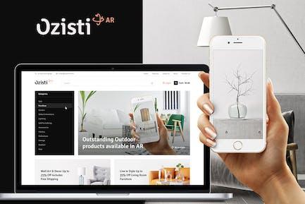 Ozisti | Augmented Reality WooCommerce Theme