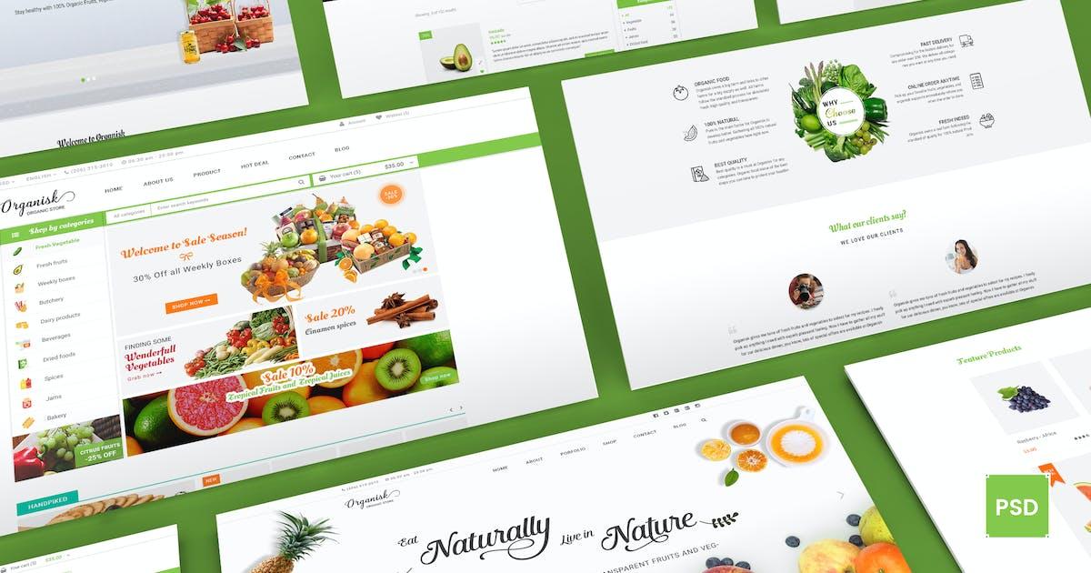 Organisk - Multi-Purpose Organic PSD Template by Unknow