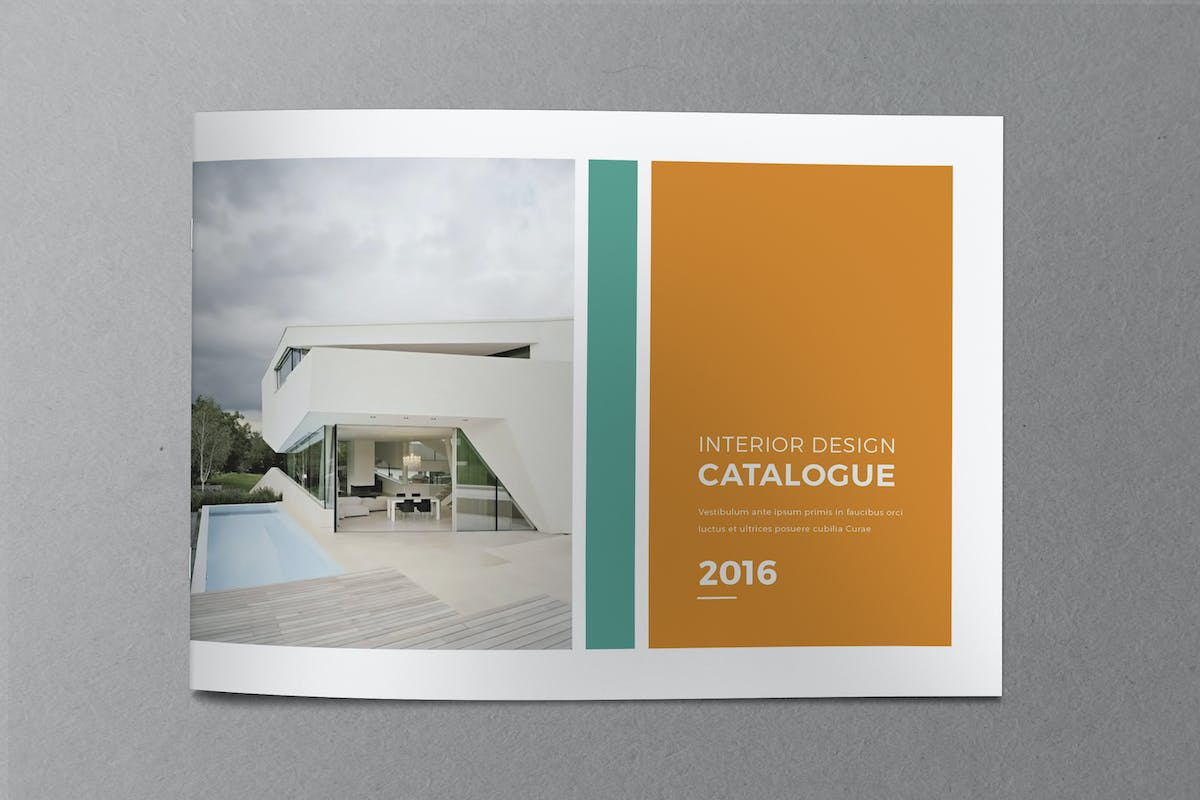 Minimal indesign catalogue by nody4design on envato elements for Indesign interior