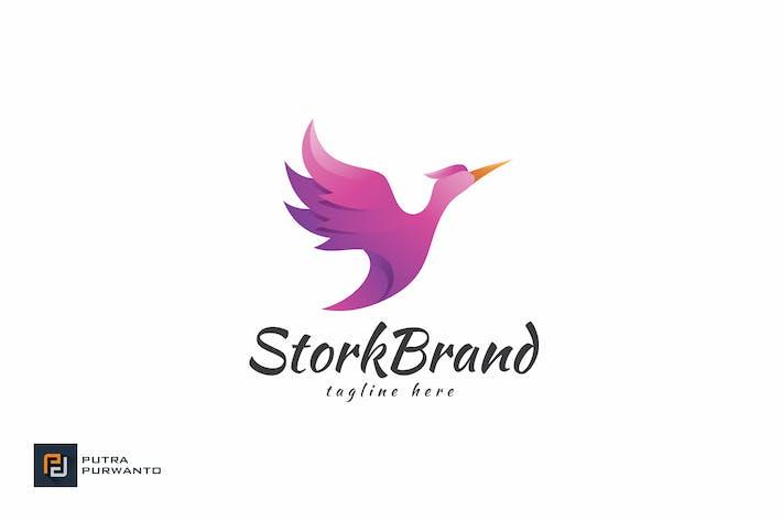 Thumbnail for Stork Brand - Logo Template