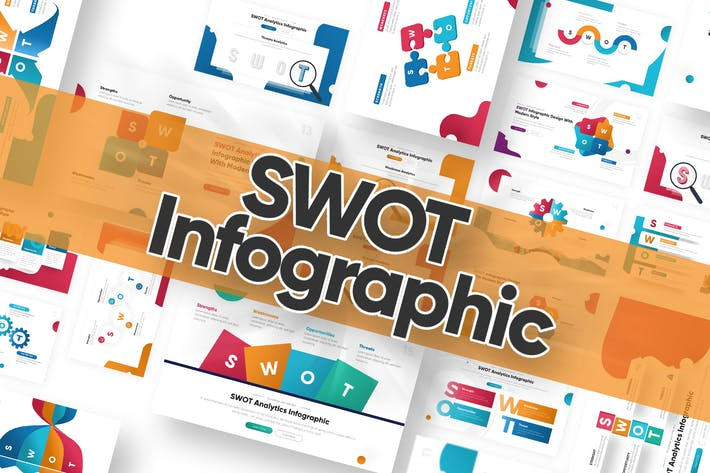 Thumbnail for SWOT Infographic Powerpoint Template