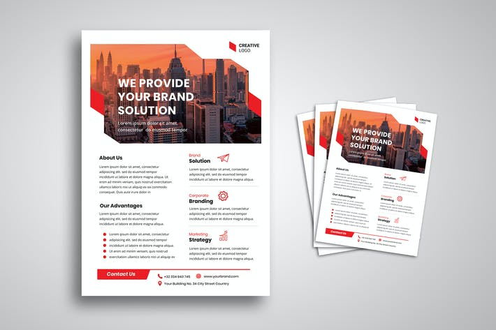 Thumbnail for Business Solution Flyer