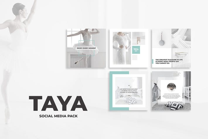 Cover Image For Taya Social Media Pack