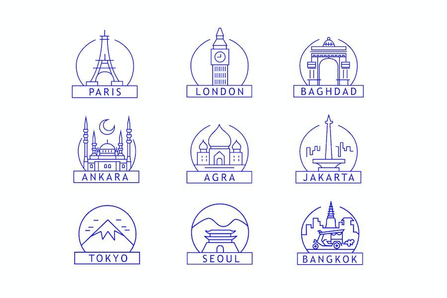 City Badges
