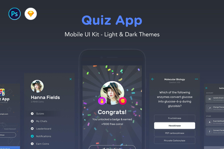 Quiz App by nimart1 on Envato Elements