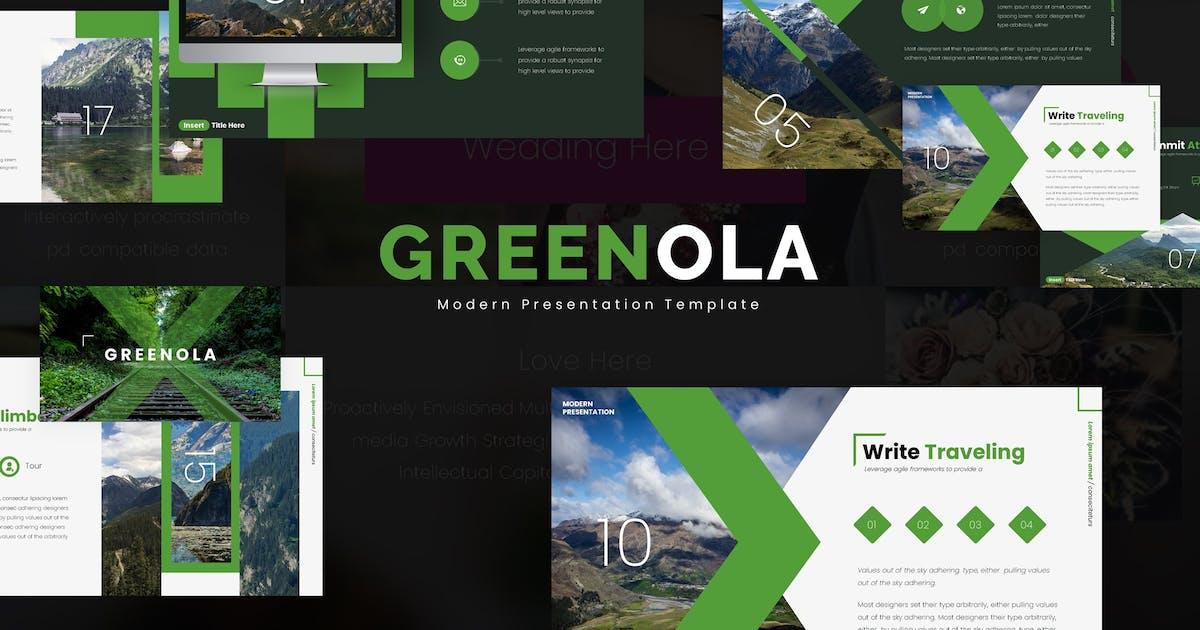 Download Greenola - Keynote Template by vincentllora