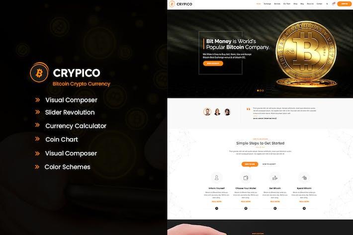 Thumbnail for Crypico - Crypto Currency WordPress Theme