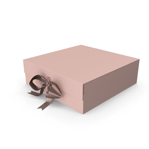 Thumbnail for Pink Box with Ribbon