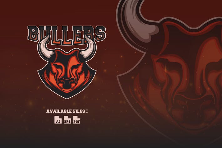 Thumbnail for Bullers Sport and Esport Logo Template