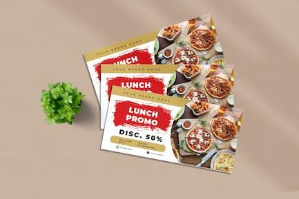 Chèque Promo Déjeuner