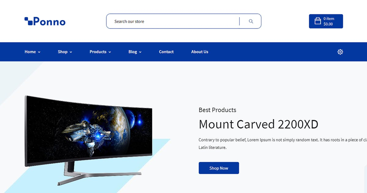 Download Ponno - Electronics eCommerce Shopify Theme + RTL by codecarnival
