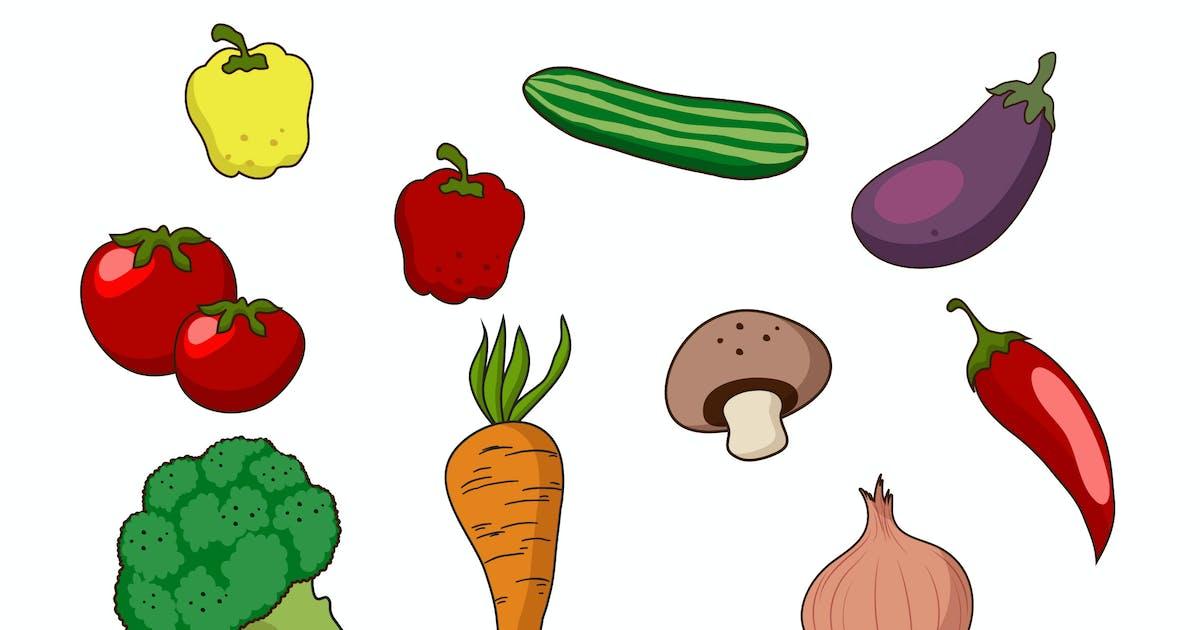 Download Vegetables Doodle by Bewalrus