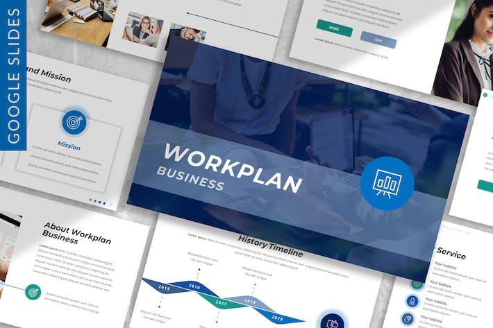 Thumbnail for Workplan - Business Google Slide Template