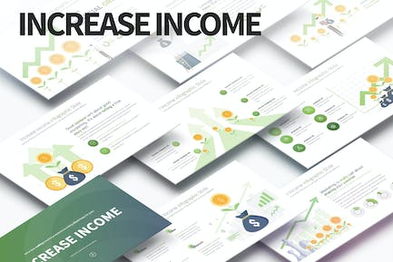 Increase Income - PowerPoint Infographics Slides