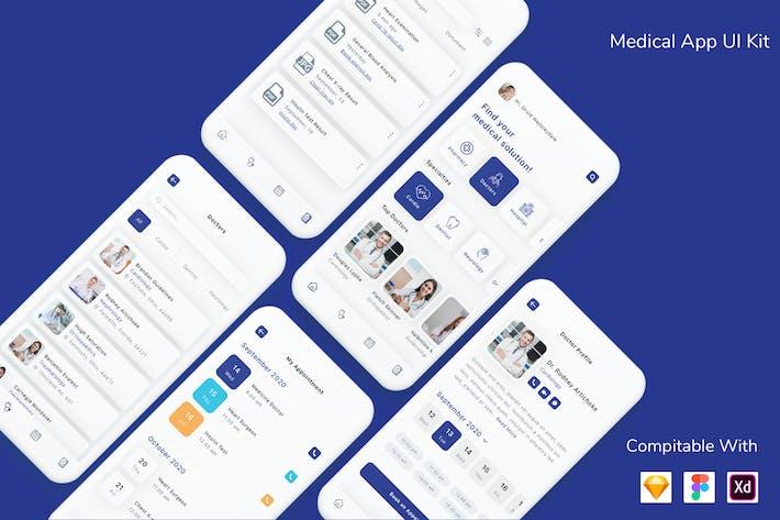 Thumbnail for Medical App UI Kit