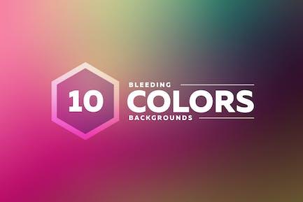 Bleeding Colors Backgrounds