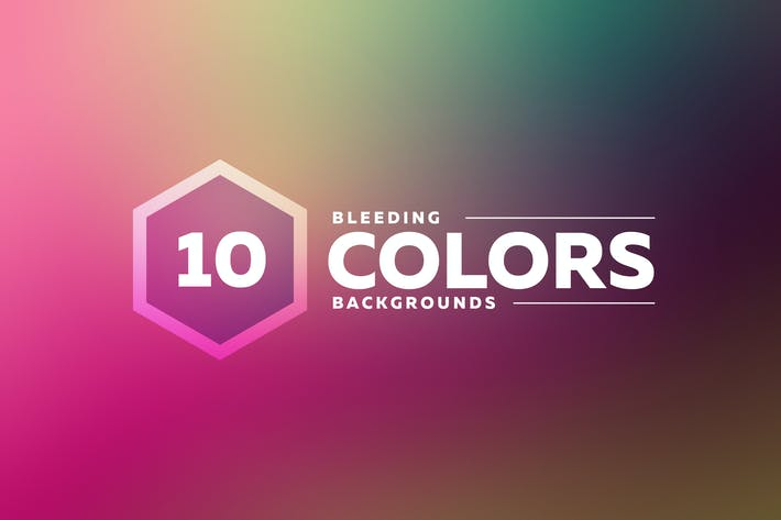 Thumbnail for Bleeding Colors Backgrounds