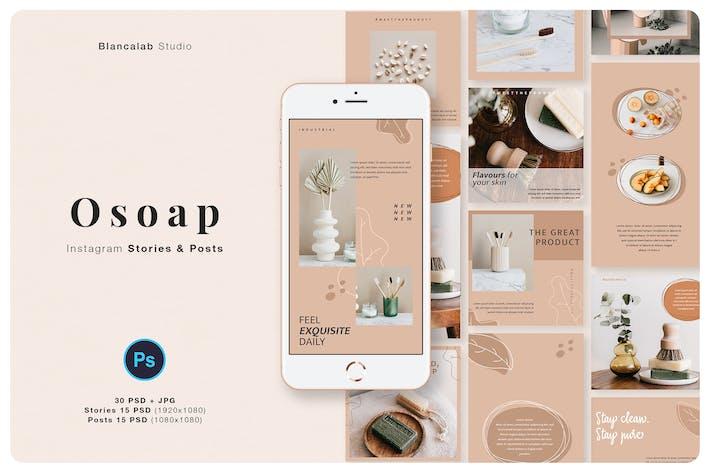 Thumbnail for OSOAP Instagram Beiträge & Geschichten