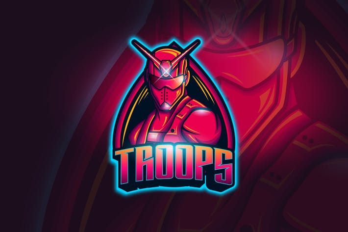 Thumbnail for Troops - Mascot & Esport Logo
