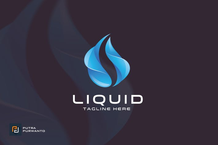 Liquid - Logo Template
