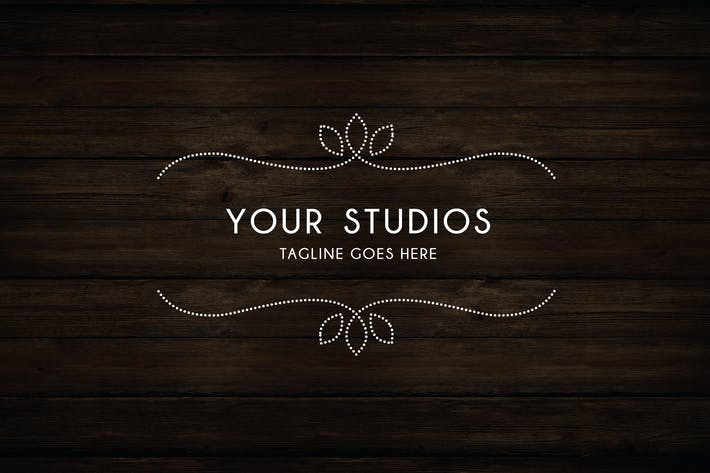 Cover Image For Ornate Logo Template