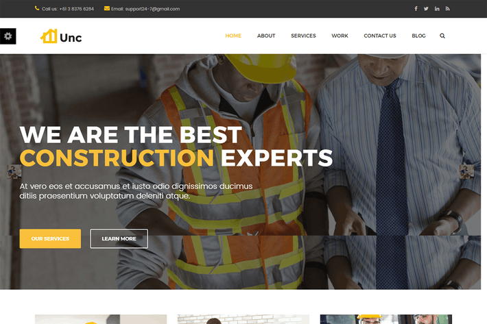 Thumbnail for Unc Construction - Entreprise de construction, Bâtiment