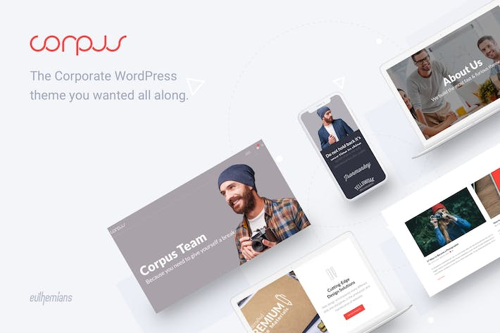 Thumbnail for Corpus - Responsive Corporate WordPress Theme