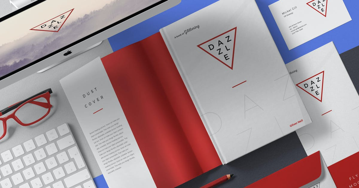 Download Book Cover Mockup Scenes by zippypixels