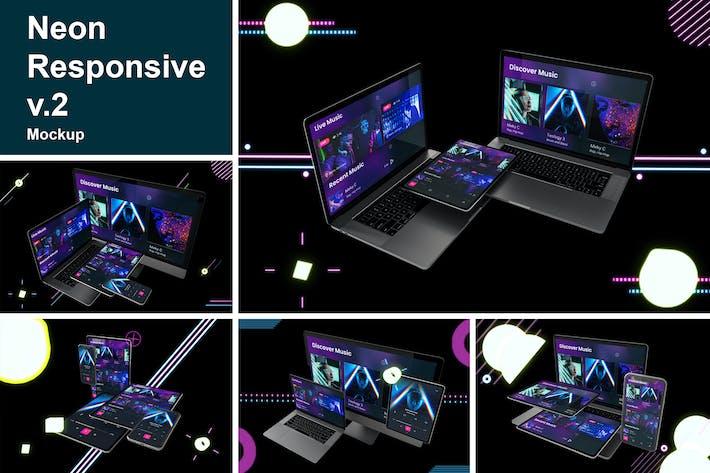 Thumbnail for Neon Responsive V.2