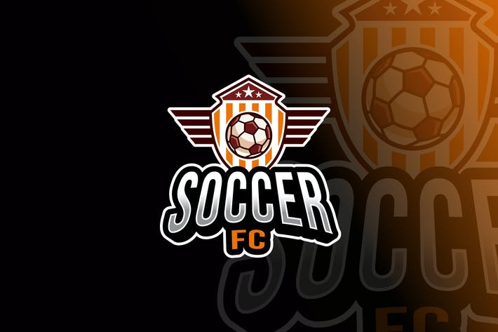 Thumbnail for Soccer Logo Template