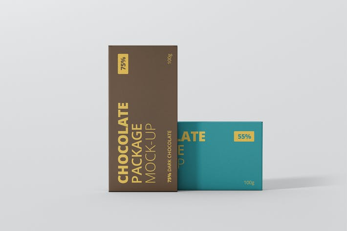 Thumbnail for Chocolate Packaging Mockup