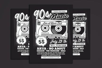 90's Music Event Cassette