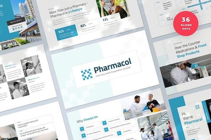 Pharmacy Health Presentation PowerPoint Template