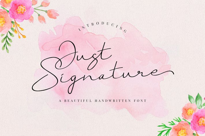 Cover Image For Just Signature Script