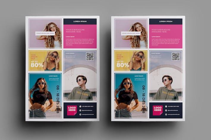 Thumbnail for Fashion Flyer Design.28