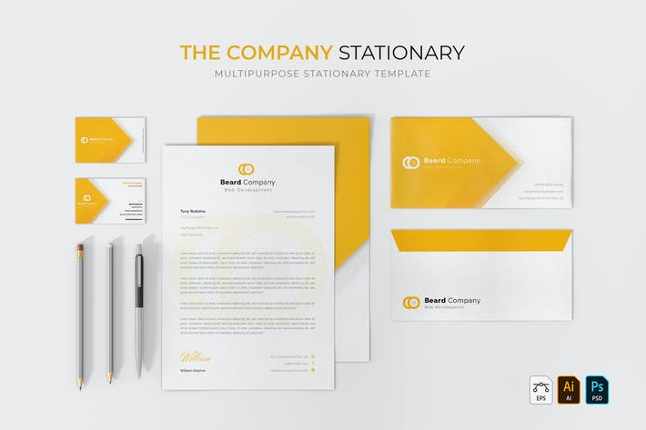 Thumbnail for Company | Stationary