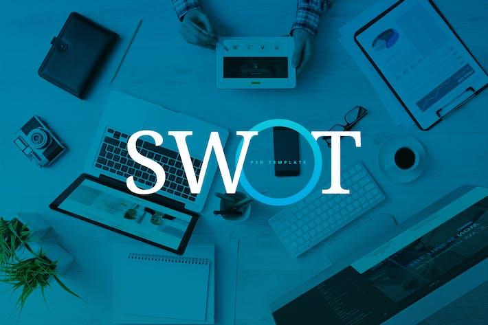 Thumbnail for SWOT - Plantilla PSD Corporativa