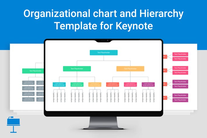 Thumbnail for Organizational Chart for Keynote