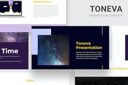 Toneva - Aprendiendo Sobre Astronomía Google Slides