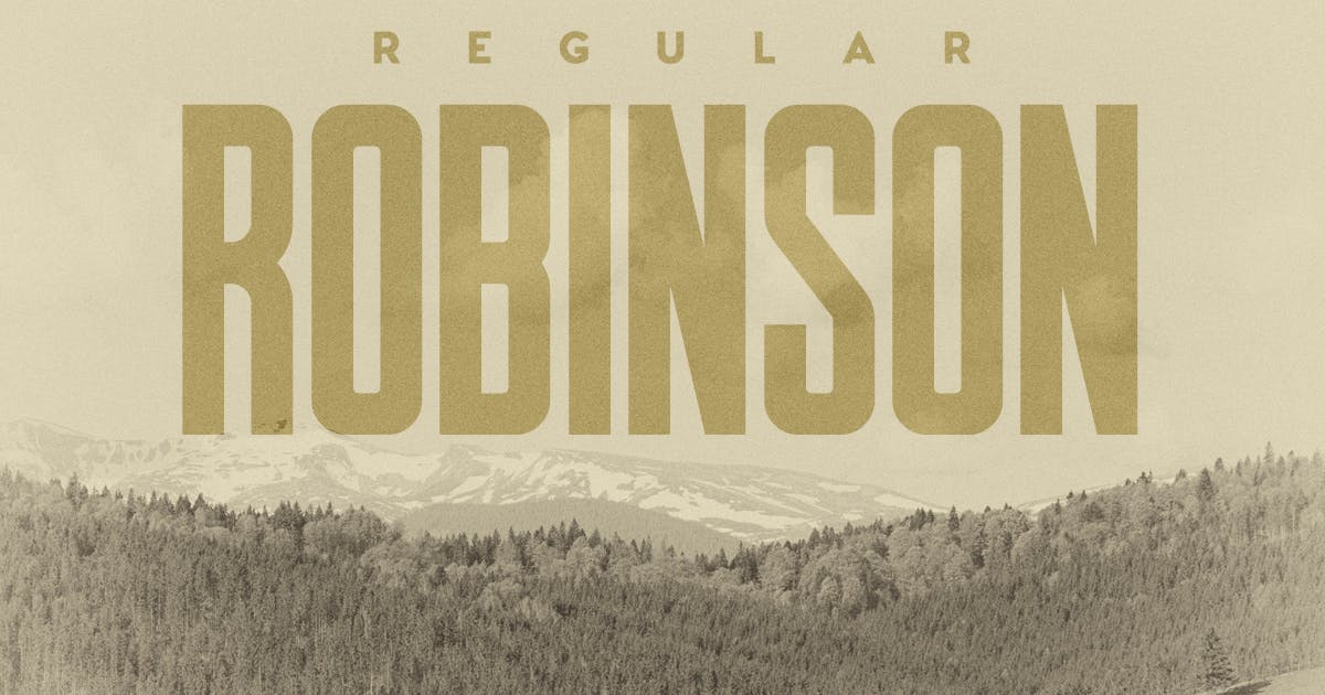 Download Robinson Regular by MehmetRehaTugcu
